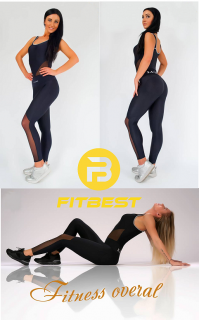 fitness overal Luxesse Black